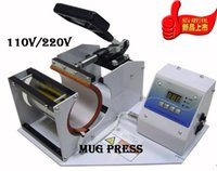 Wholesale Hot Selling BY Carriage Free Advanced Design Sublimaton Machine New Mug Press Cup Digital Transfer Machine Hot press Machine