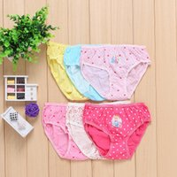 Wholesale Girls Years Old Lace Multicolor With Antibacterial Anti Emptied Underwear Low Waist Briefs C