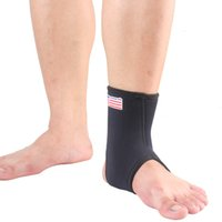 Wholesale Ankle Brace Protect Elastic Pad Outdoor Basketball Running Football Sport Guard Ankle Brace Support Strap Accessory