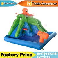 backyard water slides - YARD octopus backyard inflatable water slide water park swimming pool with blower