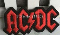 ac vest - AC DC iron on patches band badge biker vest patches fabric motorcycle clothes patch embroidery patches for clothing