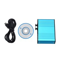 audio card drivers - Briloom HOT New Blue USB Channel External Optical Audio Sound Card Adapter Supports AES EBU Notebook PC With CD Driver