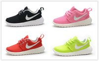 autumn shoes - Nike Roshe Run Children s Athletic Shoes Boys and Girls Running Shoes Kids Casual Boots Babys Sneakers Sport Shoes Size C Y