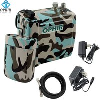 battery air compressor - OPHIR NEW Mini Air Compressor with Rechargeable Battery Set for Airbrush Cake Body Tattoo Makeup Nail Art Hobby_AC003BF AC079BF