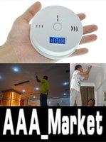 Wholesale Quality assurance Home Security Safety CO Gas Carbon Monoxide Alarm Detector Office