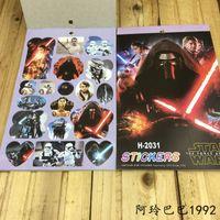 best free stickers - DHL New Star Wars Stickers book Kids cartoon Decorative paper Stickers Children s best gift in stock E463