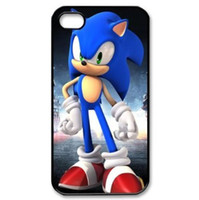 best sonic games - Top Sales Sonic The Hedgehog The Popular Video Game Iphone s Case Cover HD Image Best Protective Durable Hard Plastic Cover