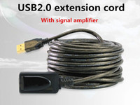 usb active extension cable - USB Active Repeater Signal Booster Extension Male to Female Cable Barcode scanner gun Keyboard Mouse Remote Control USB GPS
