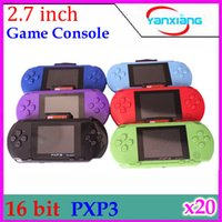 video games - DHL PXP bit Handheld Video Game Player Console Free Games RW PXP3