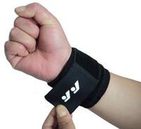 basketball fitness equipment - Elastic Wrist Support Sport Wristband Wrist Protection Basketball Tennis Weightlifting Belt Fitness Equipment
