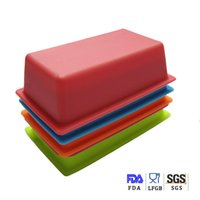 Cake Moulds fondant - Silicone Rectangle Cake Mould Muffin Silicone Fondant Mold For Baby Sugar Chocolate Jelly Cake Decorating Multi BPA free