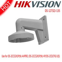 Wholesale HIKVISION DS ZJ Outdoor Indoor Wall Mount Aluminum Bracket For IR Dome Network IP Camera DS CD2732F I DS CD2732F IS