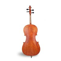 Wholesale Natural tiger stripes Cello FineLegend brand Maple decorative pattern violincello Musical Instruments handmade wood cellos
