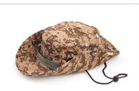 Wholesale 300pcs Hot sale Camouflage caps Camping hiking cap Outdoor fishing cap Ran s hat Caps Jungle Caps Top quality