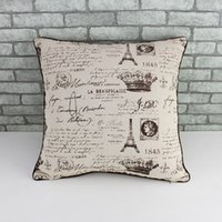 Wholesale ZAKKA decorative indoor pillow case for sofa car woman ikea pastoral style cotton Linen Cloth pattern cushion cover