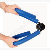 home gym equipment - 50pcs CCA3571 High Quality Blue Pink Leg Magic Weight Lossing Training Aids Trainer Slimming Shaping Equipment for Home Gym Leg Shaper