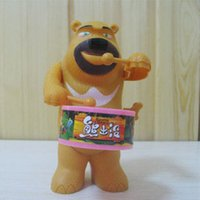 bear toy box - Chain wound up big drum boxed toy series funny bear toys