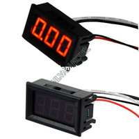 Wholesale High Quality New Red LED Panel Meter Mini Digital Ammeter DC To A