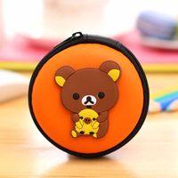 american mini storage - 20 Creative Coin Purse Fashion Accessories Latest Cartoon Bear Waterproof High Quality Nylon Mini Key Earphone Storage Bag Walle