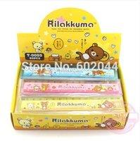 Wholesale Cute cartoon Rilakkuma ruler cm straight ruler students gift