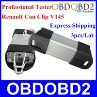 3pcs / lot expresa el Renault V145 Interfaz profesional Renault puede acortar la herramienta de diagnóstico con alta calidad y excelente prueba en vivo