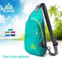 Wholesale Nylon Outdoor Cycling Hiking Sport Bag Lightweight Water resistant Men Women Shoulder Diagonal Backpack Fashionable Leisure