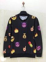 Cheap Emoji Outfit Emoji Clothes Emoji Joggers Casual Sweatshirts Cotton Blend Crew Neck 3D Printe Top Long Sleeve Cute Emoji Tracksuits Tee