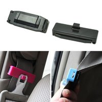 adjusting belt tension - New Car Styling Seat Belt Adjusting Clip Safety Regulator Tension Adjuster Auto Inteiror Accessories Colors