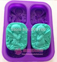 angels soap - Wholesaleretail Silicone hole angel Cake Mould Soap Mold hole CM