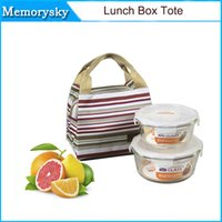Wholesale hot sale Portable Insulated Thermal Cooler Lunch Box Carry Tote Storage Bag Travel Picnic