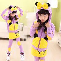 mickey - retail New Spring Cartoon Suit Girls Spring Mickey Cuhk Children Suit