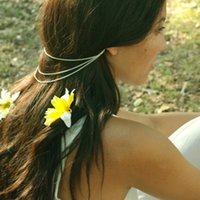 beam hair - 2015 Time limited Ear Cuff Silver Bohemian Trade Fashion Jewelry New Simple with A Multi beam Chain Tassel Ear Hair Clip Band Accessories