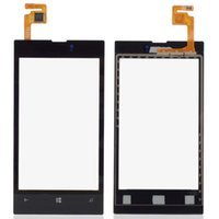 Wholesale Front LCD Lens Screen Digitizer Touch Glass For Nokia Lumia B0264 W0 SYSR