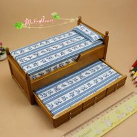 dollhouse furniture - 1 Inch Scale Dollhouse Miniatures Wood Trundle Bed Doll House Bedroom Furniture
