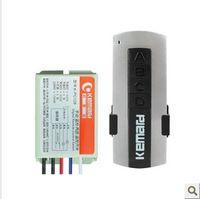 al por mayor 12v interruptor de dos vías-El interruptor teledirigido elegante sin hilos 110v 12V de dos maneras de K-PC128 220V puede ser modificado para requisitos particulares