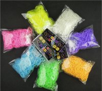 Cheap 5-7 Years rainbow loom bands Best Pink Plastic Bracelets