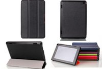 Wholesale Hot Press Stand Pu Leather Case Cover For kindle fire HD7 PU Stand Case inch Ultra Slim for Kindle Fire HD7 Side Open Leather Skin