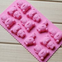 Wholesale Hot Cute Lovely Holes D Hello KT Silicone Ice Cube Tray Mold Ice Case Mold Drinkware Creative Ice Cream Tools p