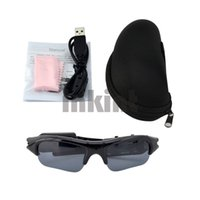 Wholesale Mobile Eyewear Mini Video Recorder Sunglasses Glasses Camera DV Fps Black SG003H Z