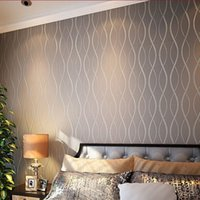 best wall insulation - Best Great wall D bedroom sitting room thickening non woven luxury wallpaper roll quarto decal papier papel de parede AB031