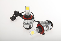 Wholesale US Stock W K H4 H L H L H L HB1 H L HB5 H13 H L Auto Car LED Headlight Lamp