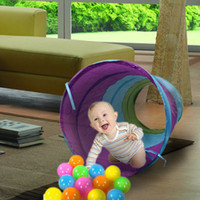 Wholesale New Baby toys Kids Play Tunnel Tent Toy Pop up Discovery Tube Children Gifts Kids Play toys