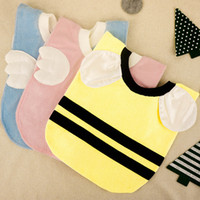 bamboo baby wear - Infant saliva towels Baby Waterproof bibs Baby wear accessories kids bamboo fiber Sleeveless Aprons children bib styles C284
