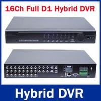 UK 8ch d1 dvr hdmi output - 16Ch Hybrid DVR NVR 960H Full D1 16 Ch Real-time H.264 Standalone CCTV DVR Recorder 16CH Audio 8CH Alarm PTZ HDMI Output 3G&WIFI