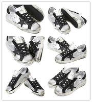MEN SNEAKER - Golden Goose Low Superstar Silver Black Comfortable Sneakers GGDB Unisex Men Women Casual Fashion Shoes Scarpe Donna Uomo