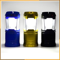 Wholesale The solar energy Portable Camping Lantern Bright and Lightweight Flashlights Light Lamp For Hiking Camping