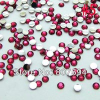 Wholesale 4MM Optional colors Flatback Acrylic Rhinestone Buttons _ for Nail Art Bags Garment Shoes Decoration_ for