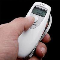 alcohol - Portable Mini LCD Display Digital Alcohol Breath Tester Alcotester Professional Breathalyzer Alcohol Meter Analyzer Detector