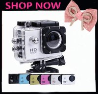Wholesale 5pcs Free DHL gopro sj4000 camera Waterproof Sport DV HD Camera Camcorder P fps MP H Inch LCD CAR DVR
