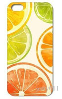 apples lemon juice - 1PC Orange Lemon Juice Style Hard Back Cover Case for Iphone S S C PLUS